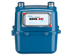 Wide-range Diaphragm Gas Meter